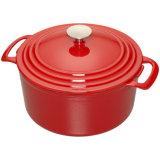 鍋を調理する上の販売の鋳鉄