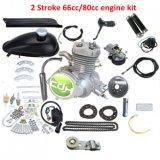 2 des Anfall-Moped-Motor-80cc motorisierter Fahrrad-Motor-Kit/80cc Fahrrad-Motor-Installationssatz-Bewegungsinstallationssatz Benzin-Motor-des Installationssatz-80cc