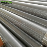 Wedge Wire Sand Control Mesh Screen with Plain/Welded/Beveled End