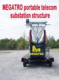 Sous-station portable Megatro Telecom Structure en acier