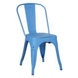 Chaire industrielle en métal de détresse, Vintage chaise de salle à manger de métal