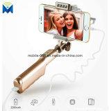 붙박이 3600mAh 힘 은행 & LED 램프를 가진 Selfie 보편적인 타전된 지팡이