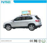 광고를 위해 접히는 HD 디지털 게시판 택시 상단 지붕 표시