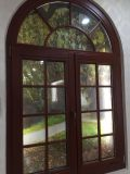 Panel de doble vinilo Casement ventana con arco Top