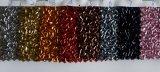 Tissu multicolore décoratifs paillettes papier peint