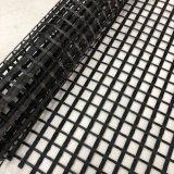 Polyester Geogrid van de Prijs van de fabriek de Éénassige/Tweeassige met de Deklaag van pvc