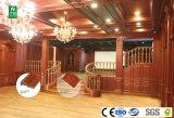 L'intérieur en plastique en bois composite ligne WPC coin