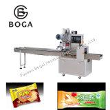 Type horizontal automatique machine de conditionnement de pile de biscuit