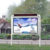 Улица рекламируя Scrolling Equipmet СИД рекламируя светлую коробку