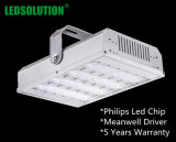 80W 주유소를 위한 산업 옥외 LED 높은 만 빛