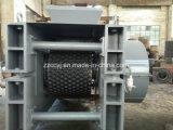 Ligne de production de bois de chauffage de presse de perforation à six pans de bois de la machine de briquettes de sciure de bois