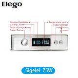 Mod E-Cigarette de la temperatura Control Box de Sigelei 75W