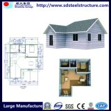 Het moderne Gebouwde Lichte Geprefabriceerd huis van de Structuur van het Staal