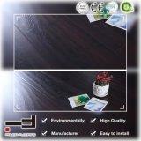8mm 12mm finition noyer de lumière cristalline HDF système Easy Lock ciré de sol stratifié