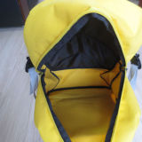 Polyester giallo Book Bag School Bag Backpack per Teenagers