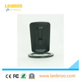 Pista sin hilos del cargador de la fábrica portable de Lanbroo China del recorrido para el teléfono elegante de Qi
