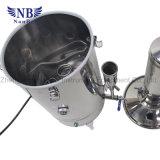 Distillatore dell'acqua del laboratorio di doppia distillazione dell'acciaio inossidabile