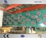 Высокая рабочая эффективность лист резины пакетное отключение линии системы охлаждения из Китая