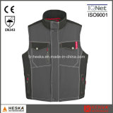 Homens Inverno acolchoado Bodywarmer Designer Colete e Segurança Vest