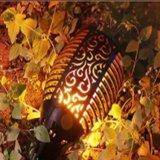 96LED solaire portable LED torche de flamme