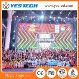 P6 imprägniern im Freien LED Handelsbekanntmachenbildschirm