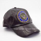 Gorra de béisbol ceñida de algodón cepillado pesado con Sandwich Peak