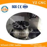 수직 CNC 선반을 자르는 합금 바퀴 수선 다이아몬드