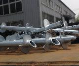 Factory Price Galvanized Round Tube Helical Screw Pile