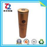 고품질 OEM 원통 모양 포도주 주석