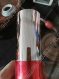Stahlrohr mit Edelstahl-Gefäß