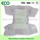 Un constructeur remplaçable de couches-culottes de bébé des prix de pente des produits secs de bébé les meilleur marché