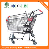 Trole do supermercado de 4 rodas com preço do competidor (JS-TAM06)
