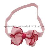 BabyDIY Grosgrain-Farbband-Bogen-elastische Haar-Zubehör-Stirnbänder