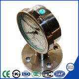 Bride de raccordement en acier inoxydable résistant aux vibrations Quanlity avec manomètre de pression élevée