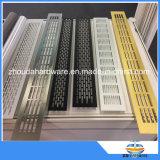 La ventilazione di alluminio di profilo cuoce il hardware alla griglia della mobilia dei montaggi della cucina del cunicolo di ventilazione