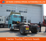 Shacman 4X2 Traktor-LKWas, Köpfe der Traktor-385HP