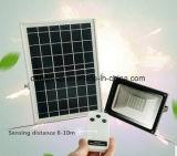 luz de inundação impermeável energy-saving do diodo emissor de luz da potência solar de 10W Epistar com 2 anos de garantia