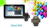 Auto7inch Android 4.0 GPS-Navigations-kapazitiver Bildschirm-Doppelkameras DVR Handels WiFi Fmt Allwinner A13 512MB/8GB 2160p im Video