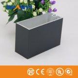 Aluminiumrahmen-Glaspanel-Zwischenwand-Stock-Systems-Zwischenwand-Glaswand-Aluminiumstrangpresßling-Profil-Aluminium-Profil