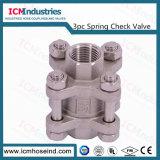 3PC sanitários fiáveis 304/316de Aço Inoxidável L da Válvula Esférica