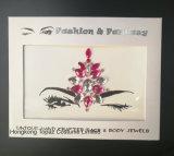 Sirena raccolta a mano ed autoadesivo tribale della decorazione della fase della fronte dei gioielli del fronte e dell'occhio di stile (S070)