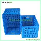 Transporte el volumen de negocios de plástico apilables cesta de frutas