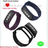 心拍数及び血圧Hb06のNFC Bluetoothのスマートなブレスレット