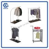 Estante al por mayor de la ropa del estante de visualización de la ropa del metal