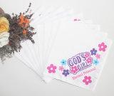 カスタムロゴのポルカドットの印刷されたAirlaidの多彩な紙ナプキン