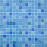 Mosaic barato Tile Sheets Glass Mosaic para Swimming Pool Tile Swimming Pool Glass Mosaic
