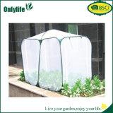 Serre chaude de jardin d'Onlylife mini avec la fibre et le PE non tissés