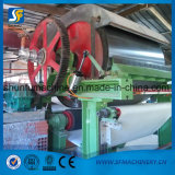 Línea de alta velocidad de la máquina de la fabricación de papel de rodillo del tejido de tocador para la pequeña empresa