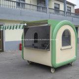 Les camions blancs de nourriture à vendre en Chine, Crepe le chariot mobile Jy-B41 de nourriture