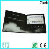 광고를 위한 최고 TFT LCD 영상 브로셔 또는 영상 Card/LCD 영상 소책자